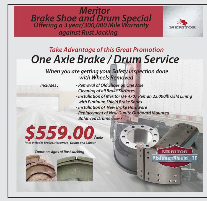 Meritor Brake Promo 2